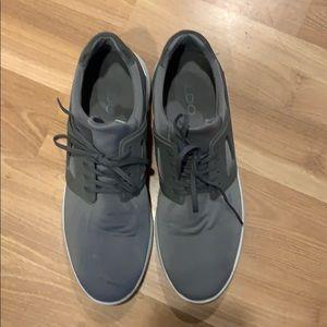 Aldo sneaker  taupe textile size 12